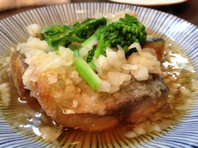 冬風邪週刊魚ケン金華サバと菜の花のみぞれ煮込み